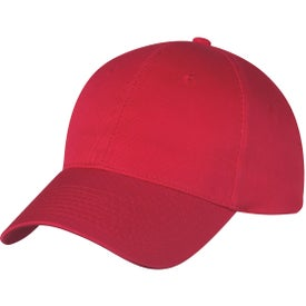 Six Panel Price Buster Cap Branded with Your Logo