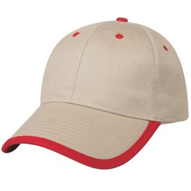 Price Buster Cap With Visor Trim Giveaways