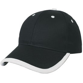 Price Buster Cap With Visor Trim Branded with Your Logo