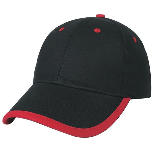 Black / Red Price Buster Cap With Visor Trim