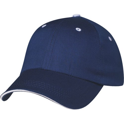 Royal / White Price Buster Sandwich Cap