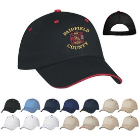 Personalized Price Buster Sandwich Cap with Your Slogan