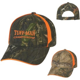 Realtree And Mossy Oak Blaze Camouflage Cap