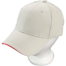 Sandwich Brushed Cotton Twill Cap