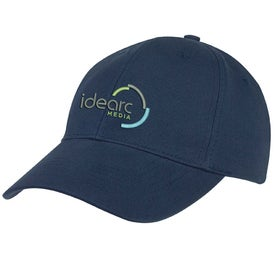 6-Panel Brushed Twill Cap for Your Company