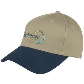 6-Panel Brushed Twill Cap Giveaways