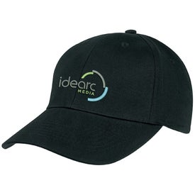 6-Panel Brushed Twill Cap for Your Church