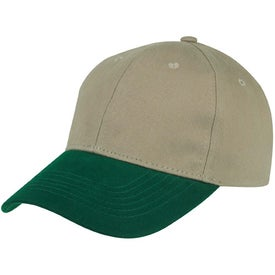 6-Panel Brushed Twill Cap for your School