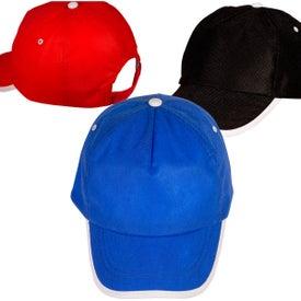 Sport-Trim Non-Woven Cap for Promotion