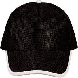 Monogrammed Sport-Trim Non-Woven Cap