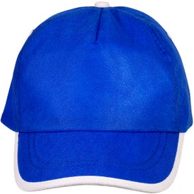 Sport-Trim Non-Woven Cap Imprinted with Your Logo