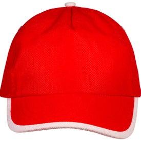 Promotional Sport-Trim Non-Woven Cap