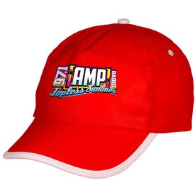 Sport-Trim Non-Woven Cap with Your Slogan