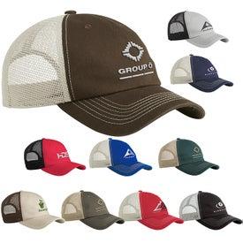 Sportsman Contrast Stitch Mesh Cap