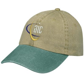 Stonewashed Cap Branded with Your Logo