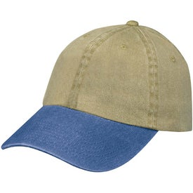 Stonewashed Cap Imprinted with Your Logo