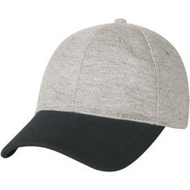 Monogrammed Sweatshirt Cap