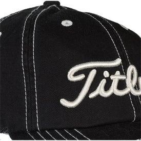 Logo Titleist Unstructured Contrast Stitch Cap