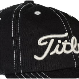 Logo Titleist Custom Unstructured Contrast Stitch Cap