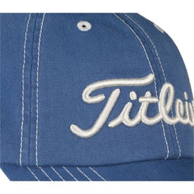 Titleist Custom Unstructured Contrast Stitch Cap Imprinted with Your Logo