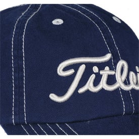 Titleist Custom Unstructured Contrast Stitch Cap for Your Company