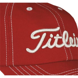 Titleist Custom Unstructured Contrast Stitch Cap for your School