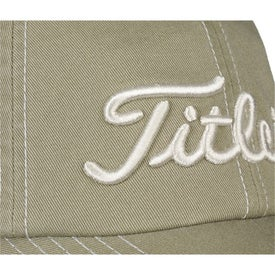 Printed Titleist Unstructured Contrast Stitch Cap