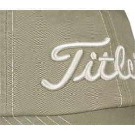 Printed Titleist Custom Unstructured Contrast Stitch Cap