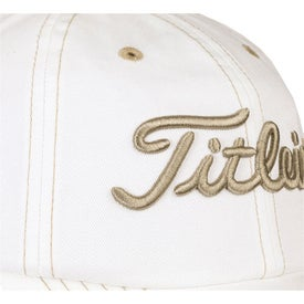 Titleist Unstructured Contrast Stitch Cap for Your Organization