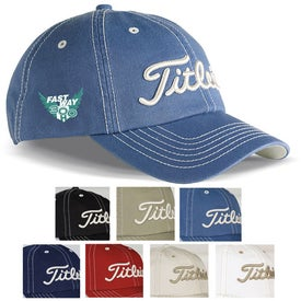 Titleist Custom Unstructured Contrast Stitch Cap with Your Logo