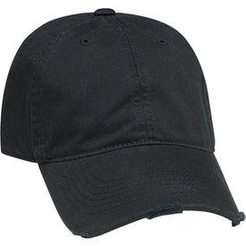 Logo Torn Visor Cap