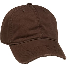 Torn Visor Cap with Your Logo