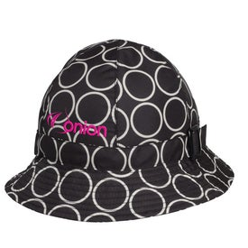 Totes Fashion Printed Bucket Rain Hat
