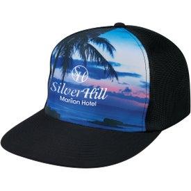 Tropical Flat Bill Cap