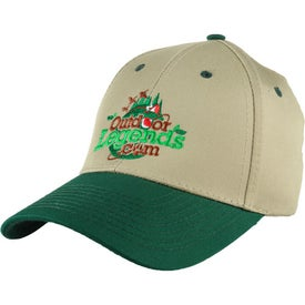 Two-Tone Cotton Hat