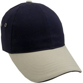 Lightweight Brushed Twill 2-Tone Sandwich Cap for Your Organization
