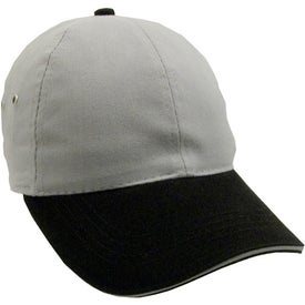 Company Lightweight Brushed Twill 2-Tone Sandwich Cap