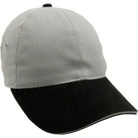 Company Lightweight Brushed Twill 2-Tone Sandwich Cap