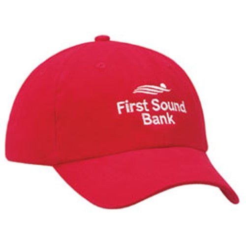 Promotional Unconstructed Heavy Brushed Cotton Caps with Custom Logo for   11.72 Ea. 04d0a45069be