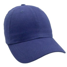 Promotional Unconstructed Heavy Brushed Cotton Cap