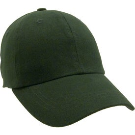 Unconstructed Heavy Brushed Cotton Cap with Your Logo