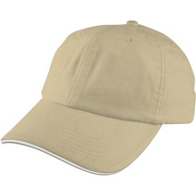 Unstructured Sport Sandwich Cap for Advertising