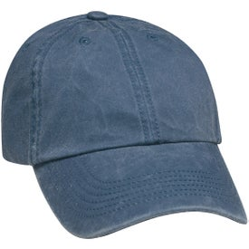 Washed Cap with Your Slogan
