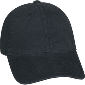 Monogrammed Washed Cotton Cap