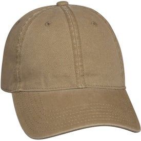 Washed Cotton Cap for Your Organization