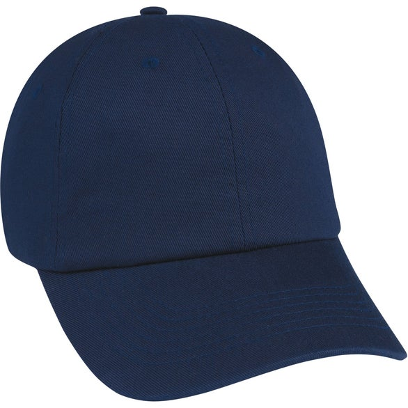 Navy Washed Cotton Cap