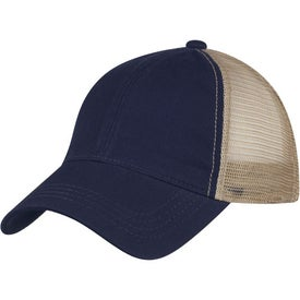 Washed Cotton Mesh Back Cap for Your Church