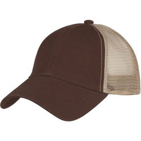 Washed Cotton Mesh Back Cap for Your Company