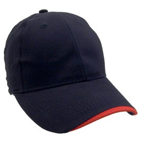 Printed Wave Lightweight Brushed Cotton Twill Cap