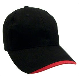 Advertising Wave Lightweight Brushed Cotton Twill Cap